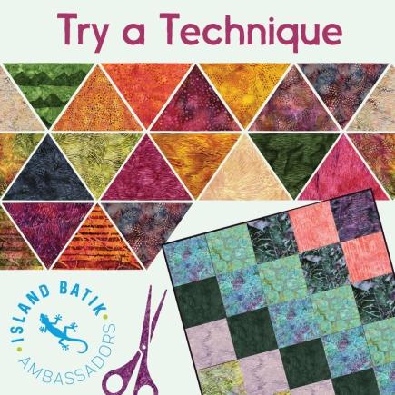 Batik hexi Shadow Quilt… – Michelle at Creative Blonde