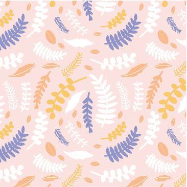 2303-05 By the pond fern pale pink