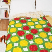 Fruit punch quilt by Michelle Roberts 1