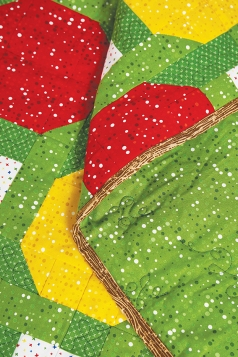 Fruit punch quilt by Michelle Roberts 2
