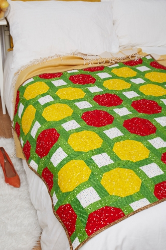 Fruit punch quilt by Michelle Roberts 3
