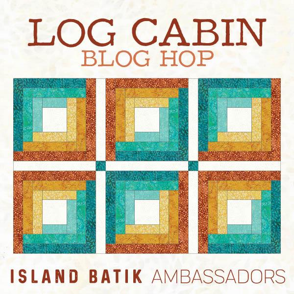 2 - Log Cabin Blog Hop